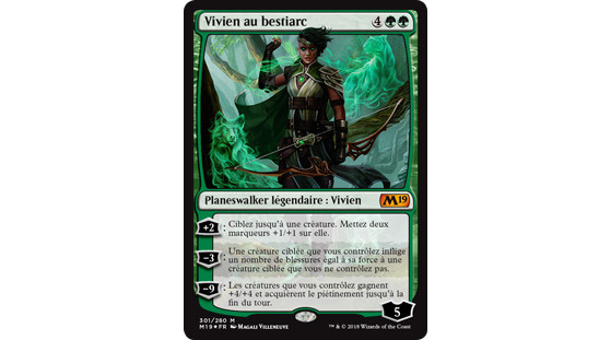 Vivien au bestiarc - Magic Arena