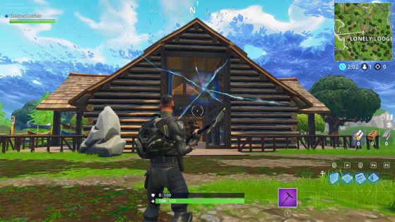 Le panneau de Lonely Lodge a disparu... - Fortnite : Battle royale