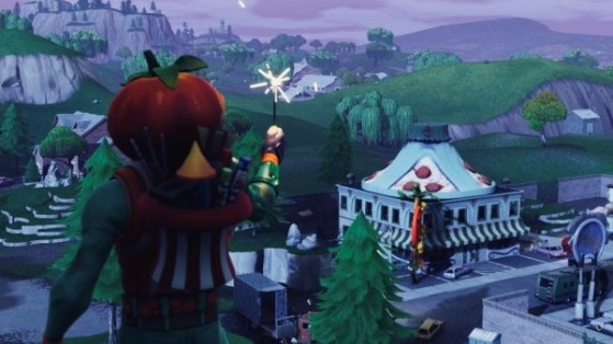 Hommage à la Tomate de Tomato Town... - Fortnite : Battle royale