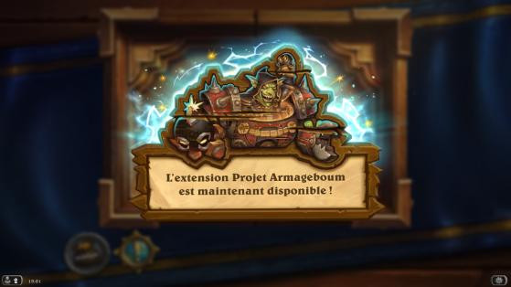 Hearthstone extension Projet Armageboum : date de sortie