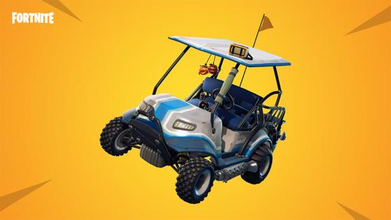 Fortnite : nouveau véhicule, voiturette tout-terrain