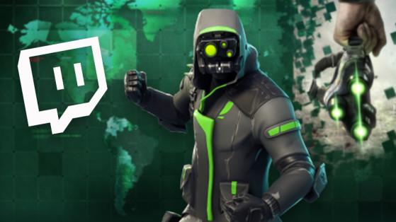 Fortnite : skin Twitch Prime, pack 3 - Millenium