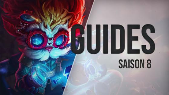 Guide LoL, Heimerdinger, ADC, s8