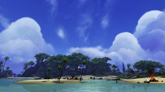 WoW : Guide Ruines d'Un'gol, île inexplorée