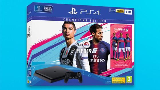 FIFA 19 : bundles, packs PS4 et PS4 Pro
