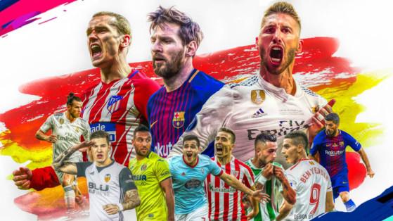 FIFA 19 : LaLiga, les meilleurs joueurs sur FUT