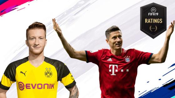 FIFA 19 : Bundesliga, les meilleurs joueurs sur FUT