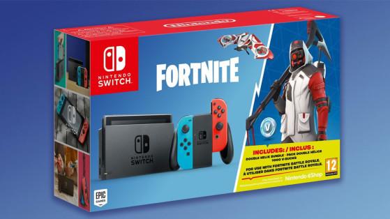 Fortnite : un pack et un skin exclusif Nintendo Switch