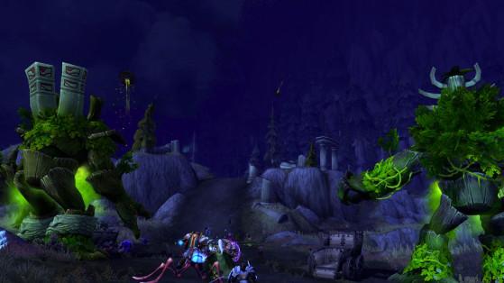 Le siège de Bashal'Aran - World of Warcraft