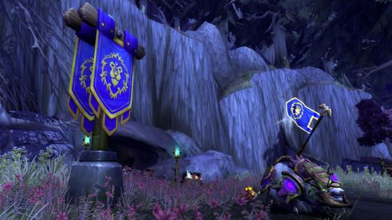 La mine de Lornesta, principale source génératrice de fer - World of Warcraft
