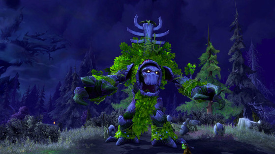 Ombrage-du-Bois, l'Arbre de vie - World of Warcraft