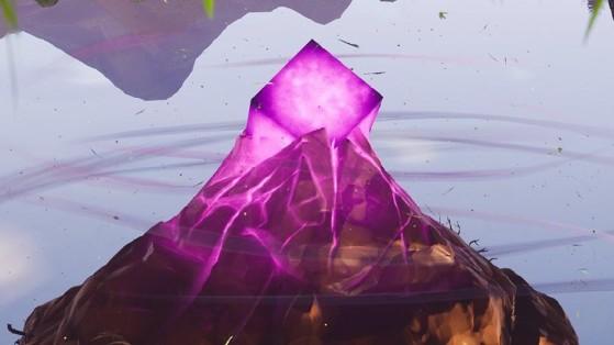 Fortnite : théorie, l'île flottante serait un volcan