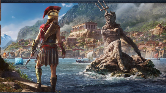 Assassin's Creed Odyssey : Respiration aquatique, Trident de Poséidon