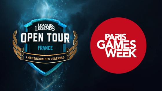 PGW : Tournoi LoL Open Tour