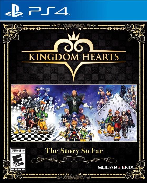 La jaquette de Kingdom Hearts : The Story So Far - Kingdom Hearts 3