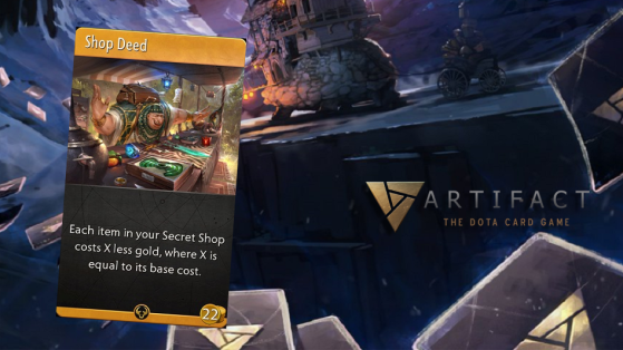Artifact : Shop Deed