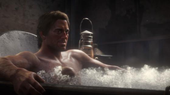 Se laver, Red Dead Redemption 2 : Hygiène, vêtements et conséquences