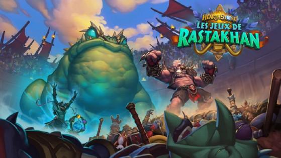 Hearthstone extension Jeux de Rastakhan : date de sortie