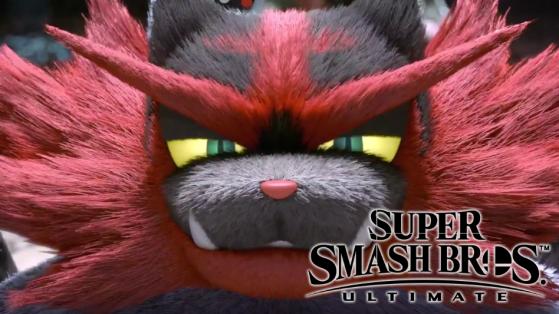 Super Smash Bros Ultimate : Félinferno le Pokemon