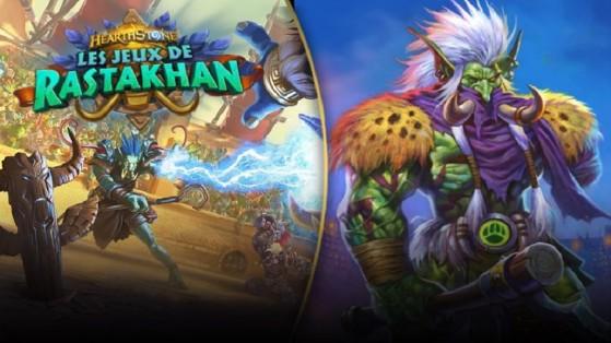 Hearthstone extension Jeux de Rastakhan : Zul'jin héros légendaire Chasseur