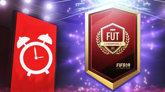 FIFA 19 : l'heure des récompenses FUT Champions change