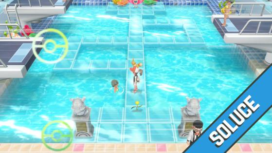 Soluce Pokémon Let's GO Pikachu Évoli - d'Azuria à Carmin sur Mer