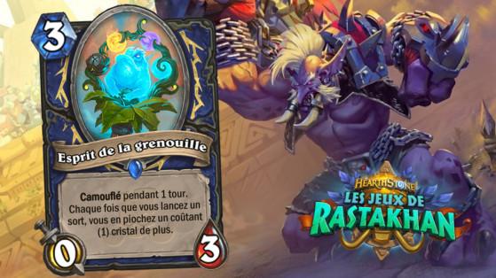 Hearthstone Jeux de Rastakhan: Esprit de la Grenouille (Spirit of the Frog)