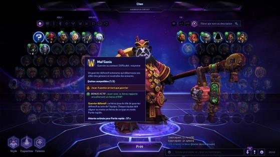 Il est possible de filtrer les héros bénéficiant du bonus à l'XP - Heroes of the Storm