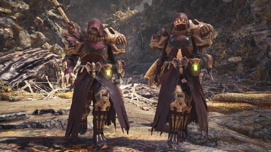 Armure spéciale : Étreinte putride - Monster Hunter World