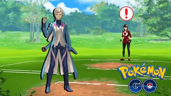 Pokemon GO PvP : combat Blanche, entrainement
