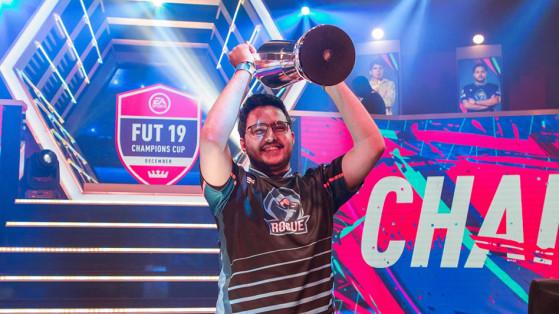 FIFA 19 : Msdossary remporte la Gfinity FUT Champions Cup de décembre