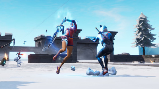 La très redoutée lame de l'infinie - Fortnite : Battle royale