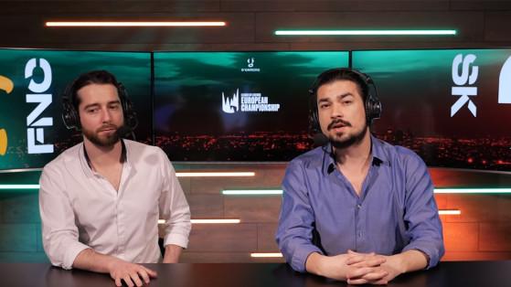 Le plateau de cast d'O'Gaming - League of Legends