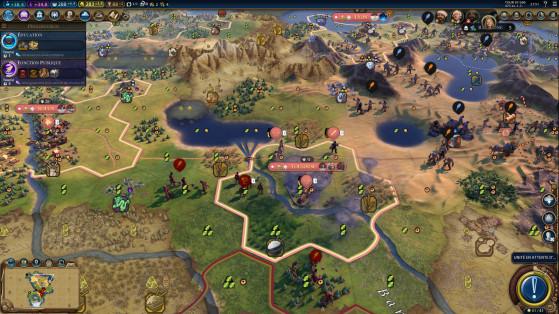 Les tornades ont dévasté nos troupes au pire moment. - Civilization 6