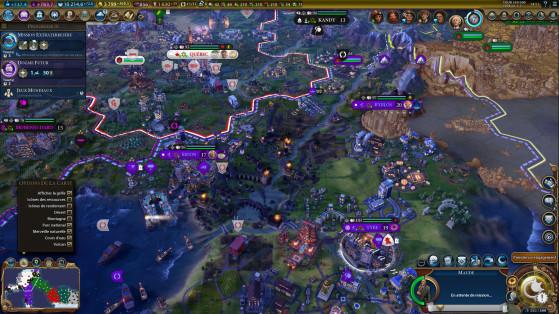 Les espions sont meilleurs que jamais avec la possibilité de faire sauter les barrages. - Civilization 6