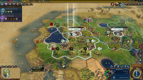 Les villes ne perdent pas de population et gagnent en loyauté à leur conquête avec l'Empire Ottoman - Civilization 6