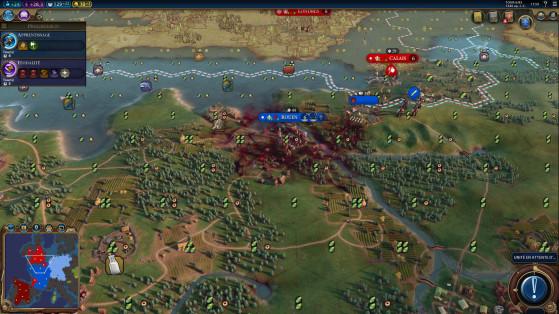 Deux nouveaux scénarios loin d'être faciles viennent aussi enrichir le jeu, la Peste et Machines de guerre. - Civilization 6
