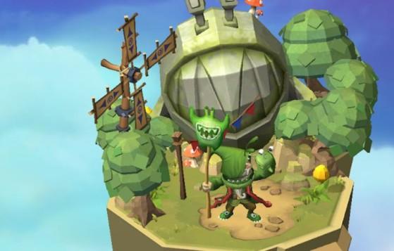 Pour farmer les shards de Stealth Elf, la forêt chantante (lvl7) sera votre destination principale ! - Skylanders Ring of Heroes