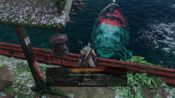Vous pouvez même nourrir les poissons. - Sekiro : Shadows Die Twice
