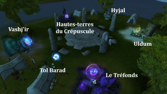 8.1 & 8.1.5 : Hurlevent, portails vers les zones de World of Warcraft : Cataclysm - World of Warcraft