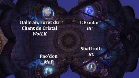 8.1.5 : Hurlevent, Tour des Mages - World of Warcraft