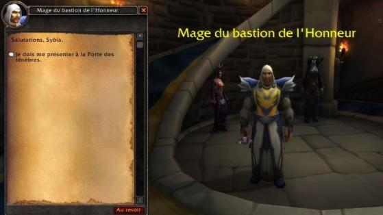 8.1.5 : Hurlevent, entrée de la Tour des Mages - World of Warcraft