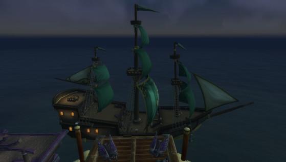 Hurlevent, bateau pour Boralus - World of Warcraft