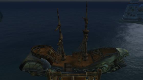 Hurlevent, bateau pour la Toundra Boréenne - World of Warcraft