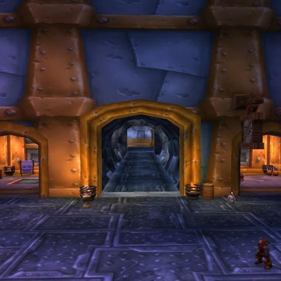 Forgefer, entrée du Tram des Profondeurs - World of Warcraft
