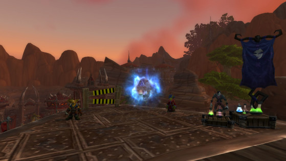Orgrimmar, portail vers Fossoyeuse ou les Clairières de Tirisfal - World of Warcraft