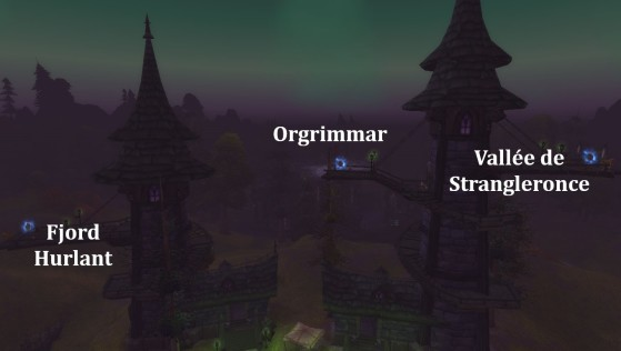 Fossoyeuse, quais des zeppelins - World of Warcraft