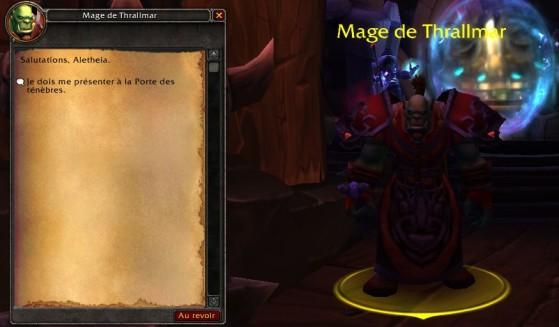 8.1.5 : Orgrimmar, mage de Thrallmar - World of Warcraft