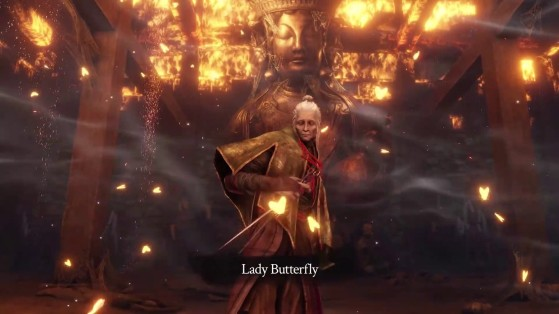 Guide Sekiro Shadows Die Twice: Dame Papillon, Lady Butterfly, boss, soluce