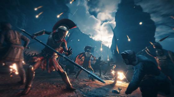 Assassin's Creed Odyssey : Le Destin de l'Atlantide, DLC, mise à